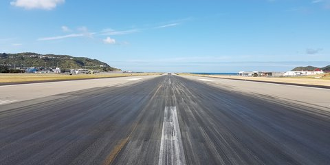 Wellington Airport Runway Resurfacing Works
