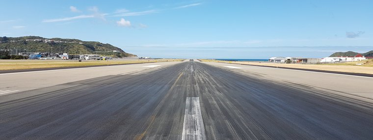 Wellington Airport Runway Resurfacing Works