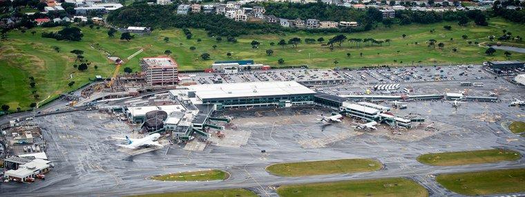 Airport aerial
