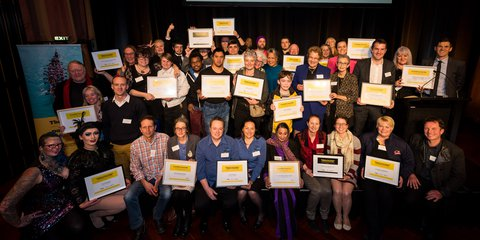 Wellington City Community Award winners 2018