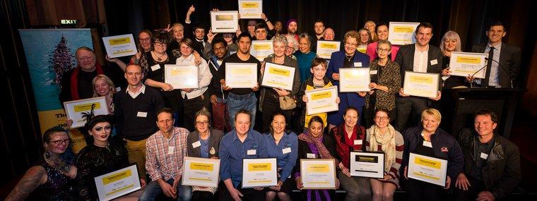 Wellington City Community Award winners 2018