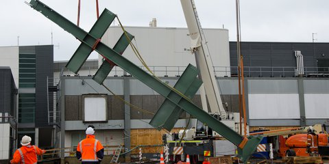 Hotel steel frame 1