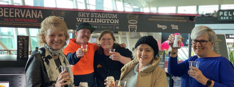 A taste of Beervana touches down at Wellington Airport 2020.jpg