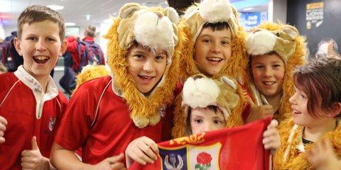 Marist St Pats Lions fans
