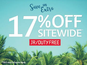 JR Dutyfree 17% After