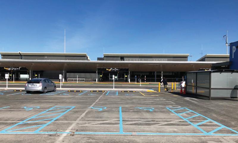 Mobility Car Park Level 1 Wellington Airport