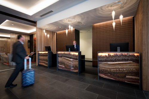 Rydges Hotel reception