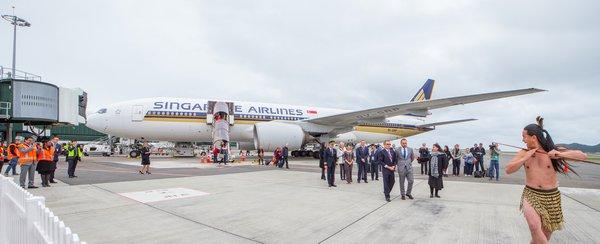 Singapore Airlines Introduces transit via Melbourne