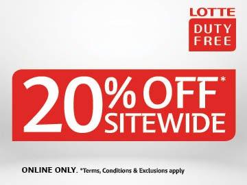 Lotte April 20%