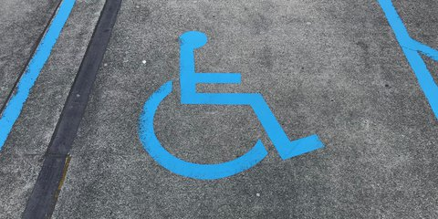 Accessible car parking